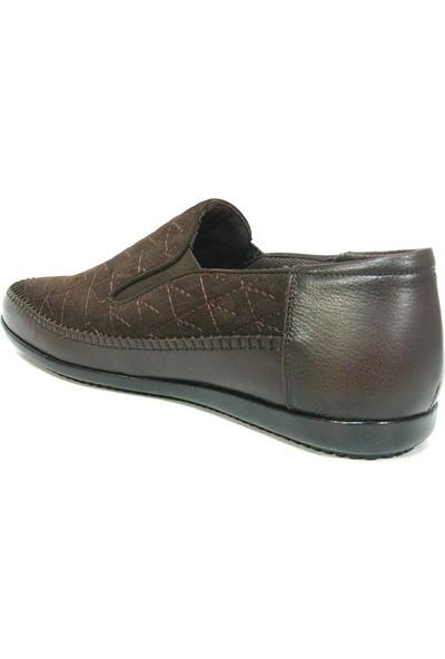 Dropland 3479 Kahverengi Bağcıksız Casual Erkek Ayakkabı