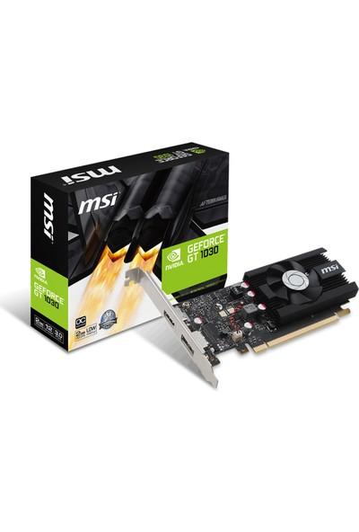 MSI NVIDIA GeForce GT 1030 2G LP OC 2GB 64 bit GDDR5 DX(12) PCI-E 3.0 Ekran Kartı (GT 1030 2G LP OC)