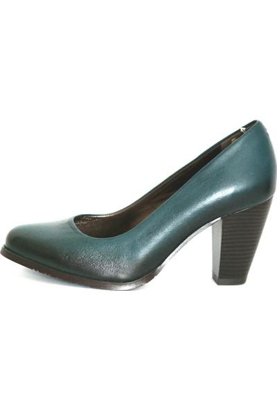 Akl Shoes Haki Deri Stiletto