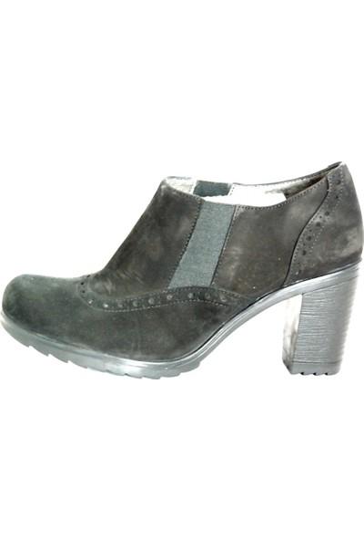 Akl Shoes Siyah Süet Ayakkabı