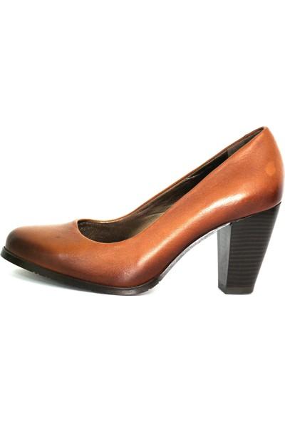 Akl Shoes Taba Deri Stiletto