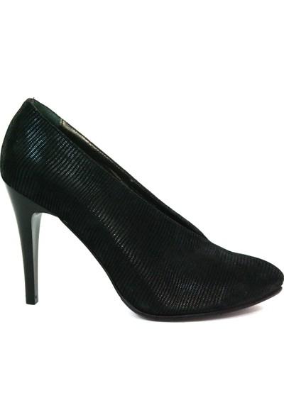 Akl Shoes Topuklu Parlak Deri Ayakkabı