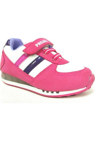 Projack 6003 Pembe Çocuk Spor Ayakkabı