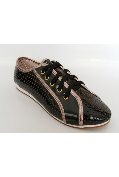 Jasmine Siyah Bayan Babet Ayakkabı
