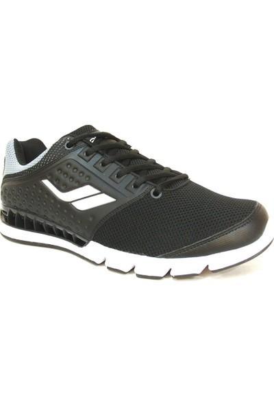 Lescon L4516 Siyah Bağcıklı Stream Erkek Spor Ayakkabı
