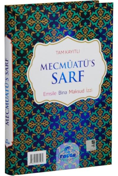 Tam Kayıtlı Mecmuatü'S Sarf Arapça Yeni Dizgi (Emsile, Bina, Maksud, İzzi)(Ciltli)
