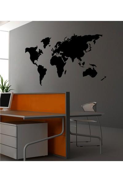 Dünya Kadife Duvar Sticker 88X133 Cm
