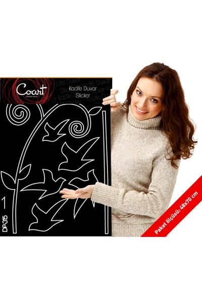 Kafes Kadife Duvar Sticker 94X154 Cm