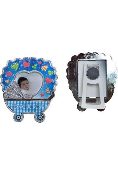 Tahtakale Toptancısı Fotoğraf Çerçevesi Puset Hoşgeldin Bebek Plastik (25 Adet)