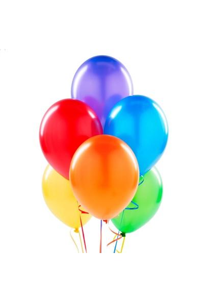 Sihirli Parti Metalik Karışık Balon 20 Adet