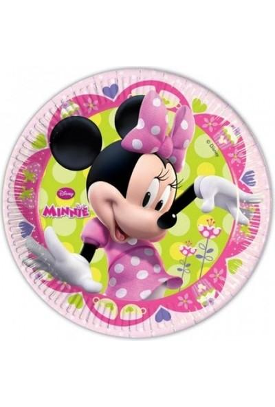 Sihirli Parti Minnie Bow Tique Karton Tabak (8 Adet)