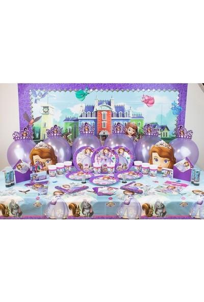 Sihirli Parti Sofia Doğum Günü Süper Parti Seti 16 Kişilik