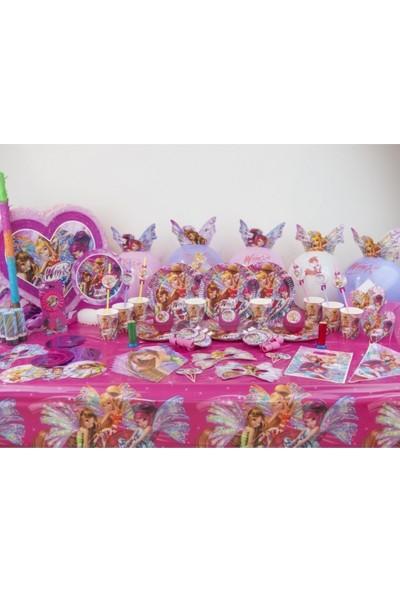 Sihirli Parti Winx Süper Parti Seti 16 Kişilik
