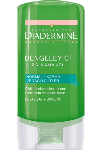 Diadermine Essentials Dengeleyici Yüz Yıkama Jeli 150 ml