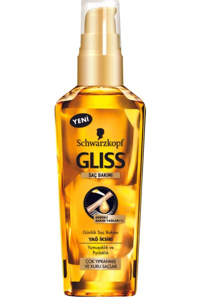 Gliss Ultimate Repair Yağ İksiri 75 ml