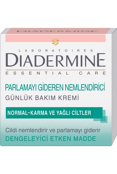 Diadermine Normal ve Karma Ciltler için Nemlendirici Bakım Kremi 50 Ml