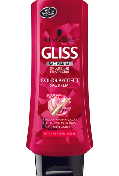 Schwarzkopf Gliss Color Protect Saç Kremi 360 Ml