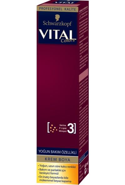 Vital Colors Koyu Kahve 3-0