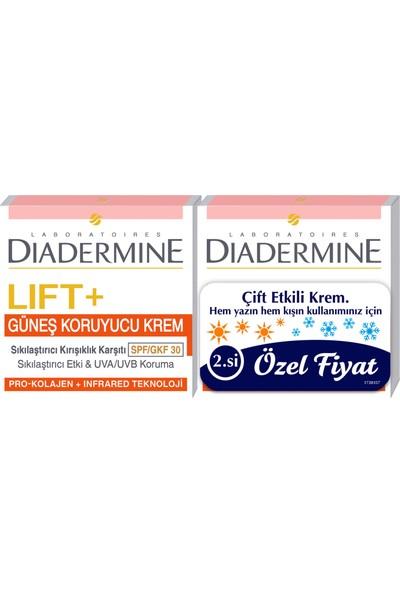 Diadermine Lift+Sun Protect Bakım Kremi 2'li 50 Ml+50 Ml