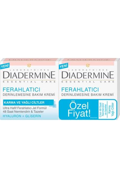 Diadermine Essentials 48H Ne Mlendirici Jel Krem 2'li 50 Ml+50 Ml
