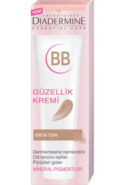 Diadermine Essentıals Bb Krem Orta Ton 50 Ml