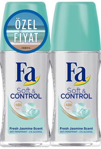 Fa Roll-On 2'Li Soft&Control 50Ml+50Ml