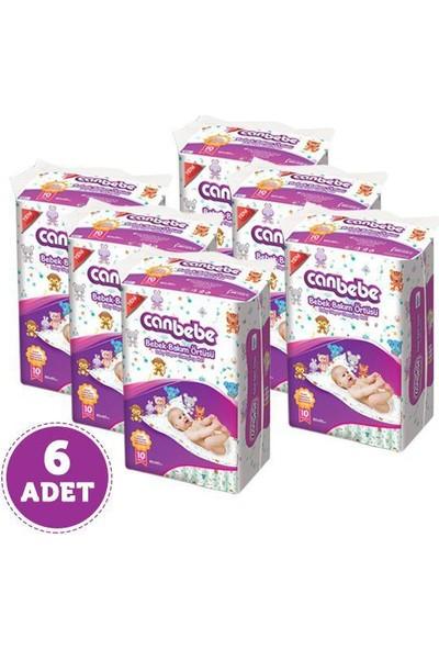 Canbebe 6 Adet Bebek Bakım Örtüsü 60 x 60 Cm