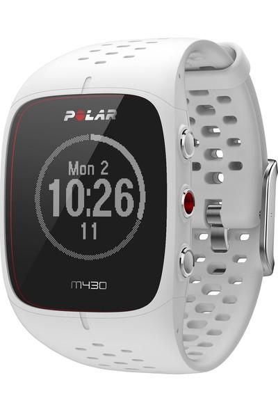 Polar M430 Bilekten Nabız Ölçerli GPS'li koşu saati - Beyaz ( Türkçe Dil Desteği )