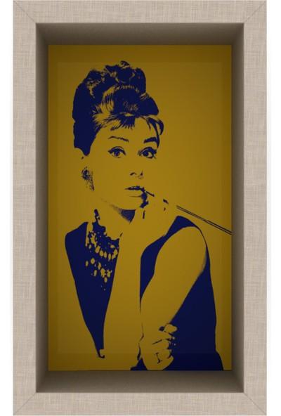 Rafevi Audrey (Hardal Sarısı)