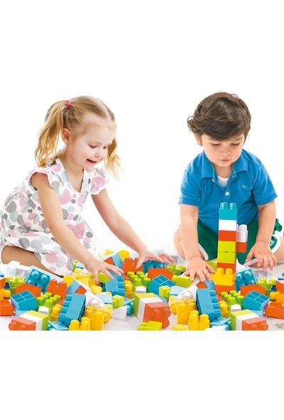Tekreyonda 94 Parça Blok Lego Yapboz Seti Renkli Bloklar