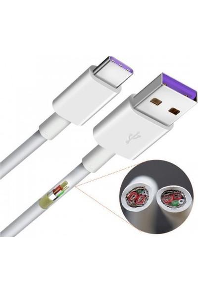 Huawei Super Charge Uyumlu USB Type-C Kablo