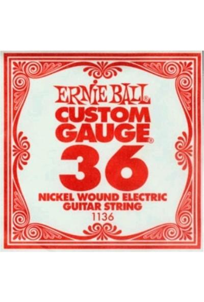 Ernie Ball P01136 / 036 Elektro Tek Tel Nickel Wound
