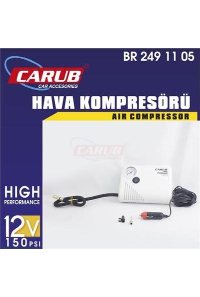 Nettedarikcisi Lastik Hava Kompresörü Yassı 12V Beyaz