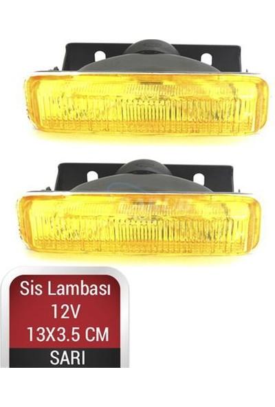 Nettedarikcisi Sis Lambası 12V 13X3.5cm Dikdörtgen Sarı
