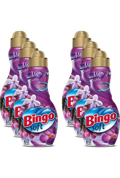 Bingo Soft Konsantre 1440 ml Mor Çiçekler 6 Adet