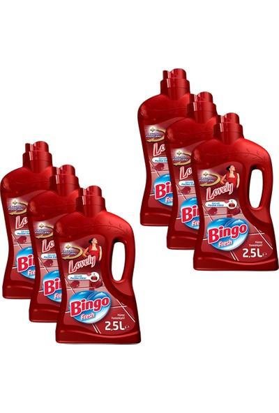 Bingo Fresh 2,5 L Lovely 6 Adet