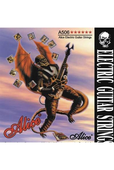 Alice A-506Sl Elektro Gitar Teli - Light