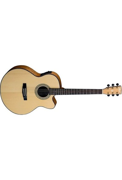 Cort Cj7X Lvb Elektro Akustik Gitar + Kılıf