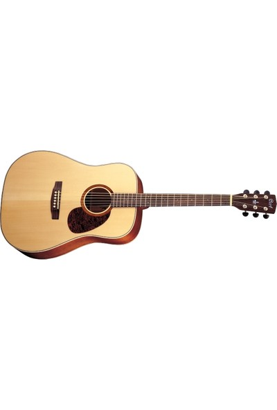 Cort Earth100Nat Akustik Gitar Set