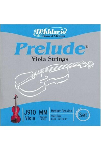 Daddarıo J910 Mm Prelude Vla Set Medium