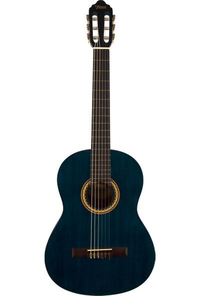 Valencia VC204TBU Mavi Klasik Gitar (Kılıf Hediyeli)