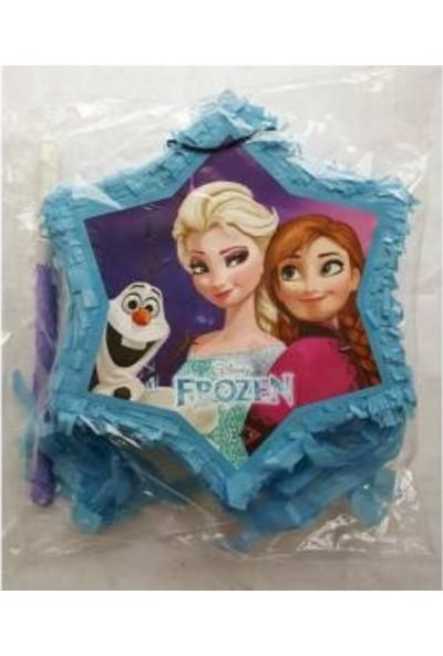 Sihirli Parti Frozen Pinyata+Sopası
