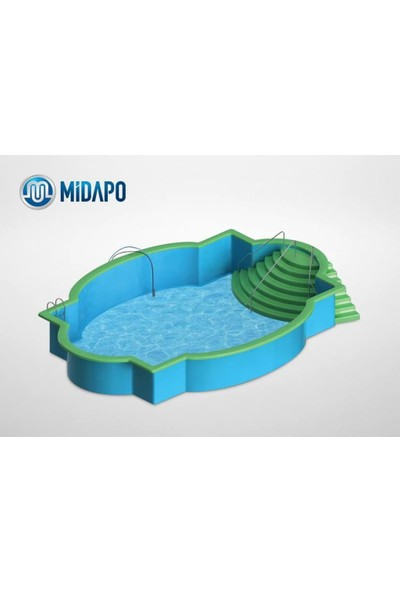 "Midapo 12 Volt 1/4"" Mini Dalgıç Pompa(Mazot,Su Yada Süt Pompası)"