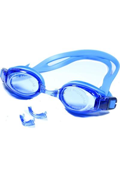 Vardem Pvc Taşıma Çantalı Yüzücü Gözlüğü / Kulaç Tıkaçlı