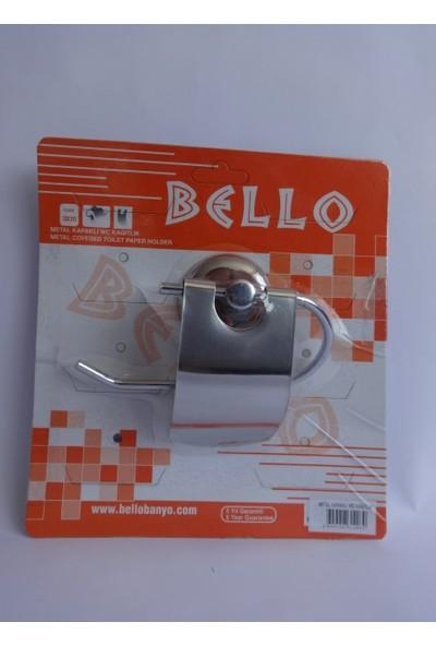 Bello Metal Kapaklı Wc Kağıtlık Dil