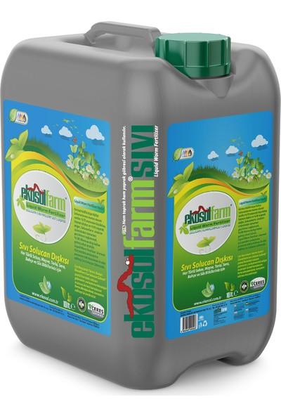 Ekosolfarm %100 Organik Sıvı Solucan Gübresi 10 Litre