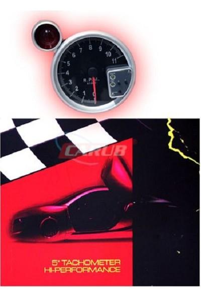 Takometre R.P.M (DEVİR) 5 İnch Carbon Desenli 4663060