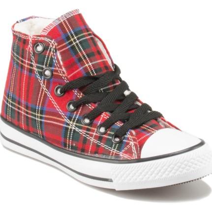 JJ-Stiller D113 Kırmızı Kadın Sneaker