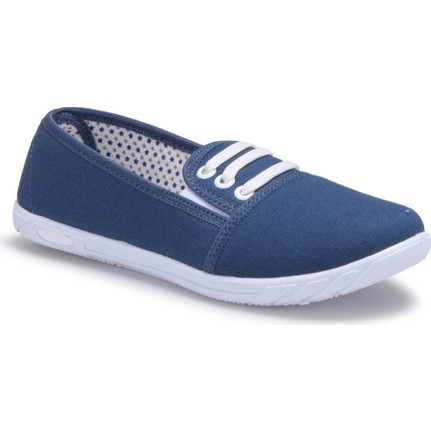 Polaris 71.354987.Z Mavi Kadın Ayakkabı