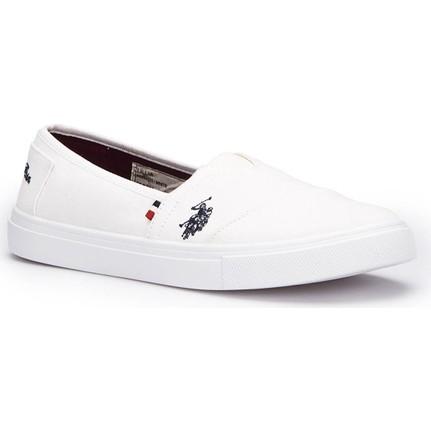 U.s. Polo Assn. Lillia Beyaz Kadın Ayakkabı